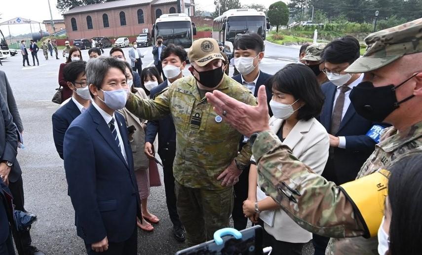 Minister Assesses N. Korea Has Will to Fulfill Inter-Korean Agreements