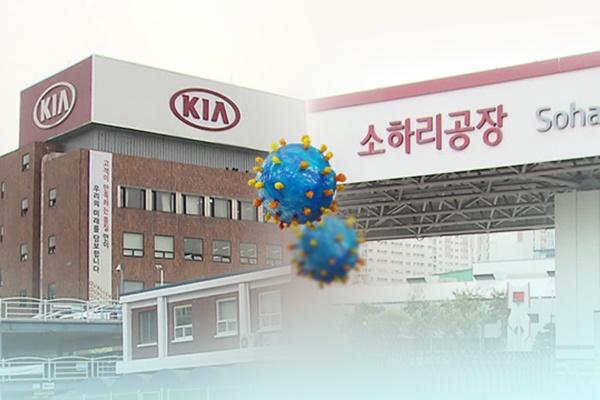 Два завода Kia Motors остановлены из-за COVID-19