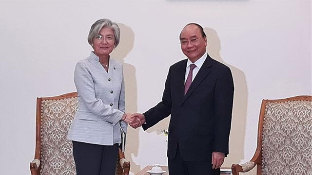 韩越18日举行外长会谈 商讨简化必要人员入境手续等方案