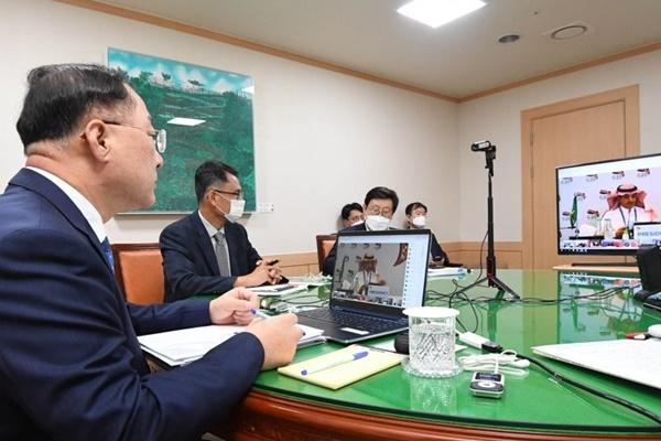 G20 : Hong Nam-ki met l'accent sur l'équilibre entre prévention et économie dans la lutte contre le COVID-19