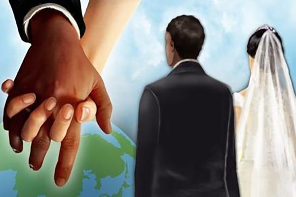 30% южнокорейцев положительно относятся к международным бракам
