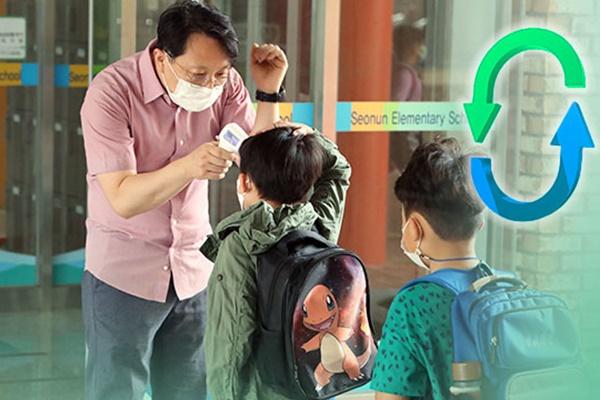 عودة الطلاب إلى المدارس في منطقة سيول الكبرى