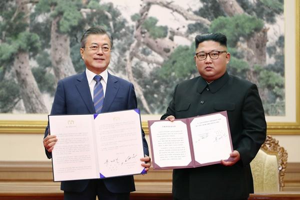 Tròn hai năm hai miền Nam-Bắc bán đảo Hàn Quốc ra Tuyên bố chung Bình Nhưỡng