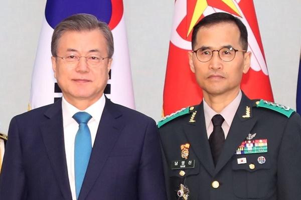 Начальником штаба сухопутных сил назначен генерал Нам Ён Син