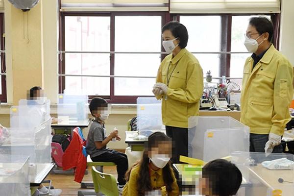 Школьники столичного региона вернулись за парты