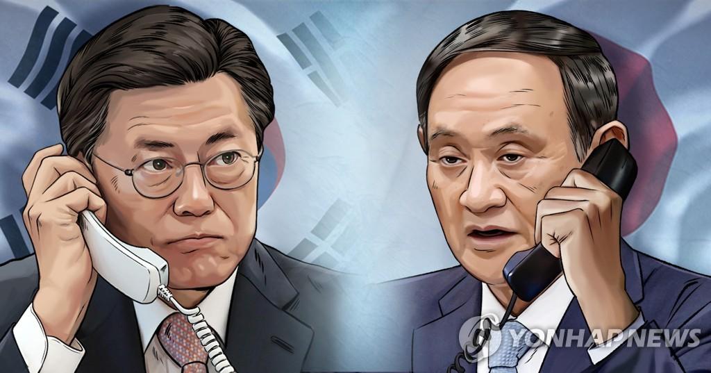 Лидеры РК и Японии договорились вместе решать имеющиеся проблемы