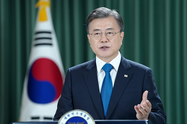 Moon Revives Call for Declaration of End to Korean War