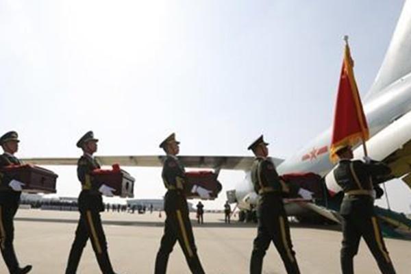 Korsel Pulangkan 117 Kerangka Jenazah Prajurit China yang Gugur dalam Perang Korea