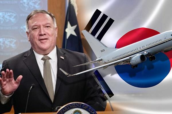 美国务卿蓬佩奥中秋节后访韩