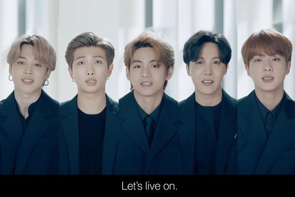 Выступление группы BTS в ООН: Жизнь продолжается, давайте жить дальше