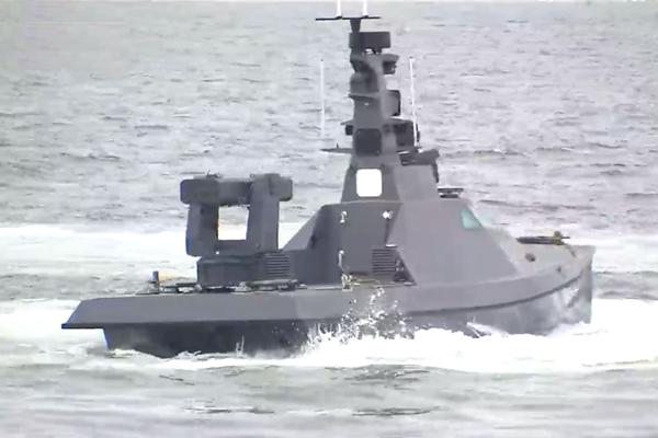 Corea prueba con éxito barco de navegación autónoma