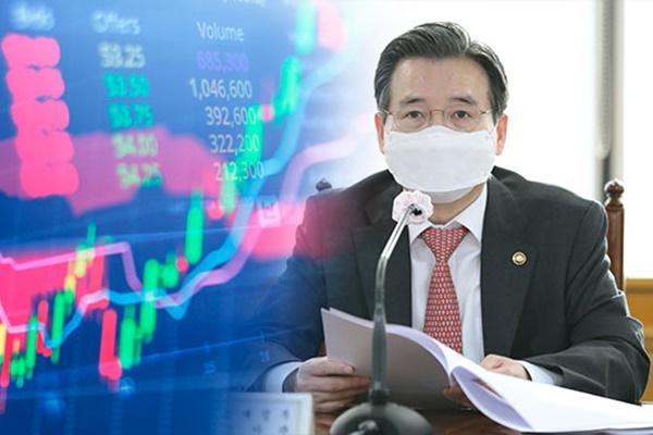 الحكومة الكورية تحذر من زيادة محتملة في تقلبات السوق المالية المحلية