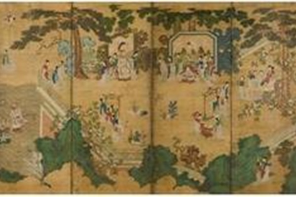 Höfisches Gemälde aus 18. Jahrhundert für zwei Milliarden Won versteigert