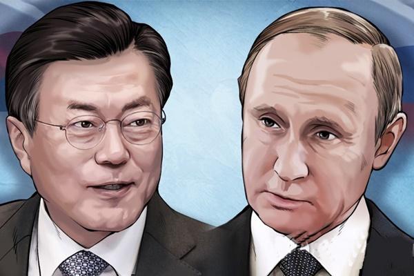 Президенты РК и России обменялись посланиями по случаю 30-летия дипотношений