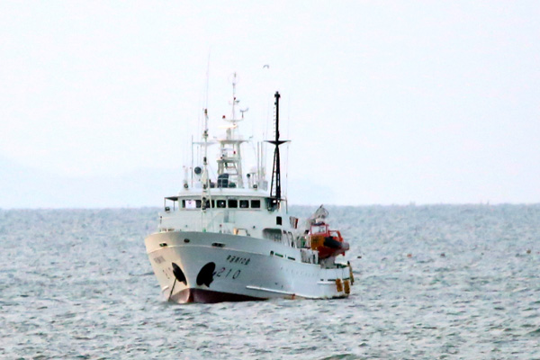 Fisheries Inspection Boat that Carried Killed Official Returning to Mokpo