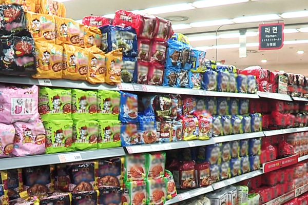 Ramyeon Exports Up 37% This Year