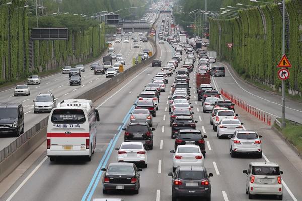 На скоростных шоссе РК пробки