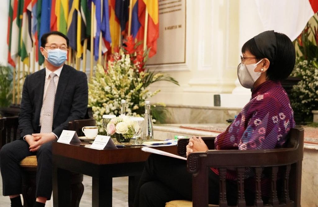 외교 차관보, 인도네시아 방문…코로나에도 신남방 협력