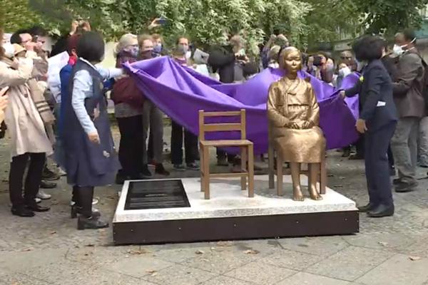 Berlín acoge monumento en memoria de las esclavas sexuales