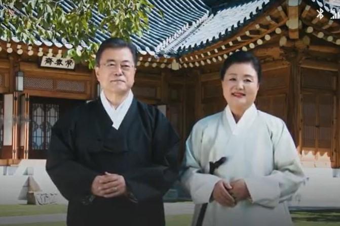 文在寅发布中秋节信息:平凡和珍贵的日子必将重新到来 望民众欢度幸福的中秋节