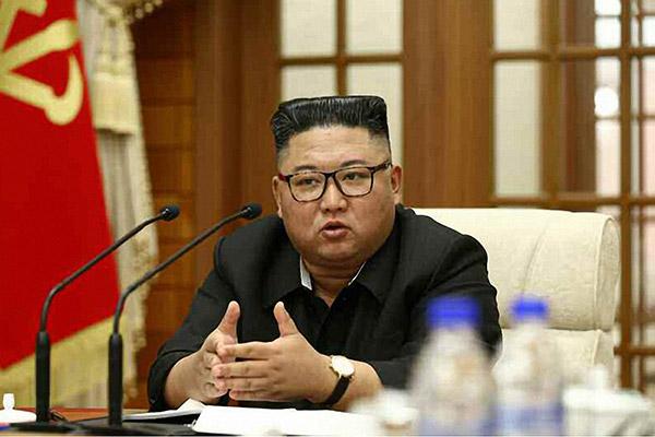 金正恩主持劳动党政治局会议 并未提及韩国公务员被杀害事件