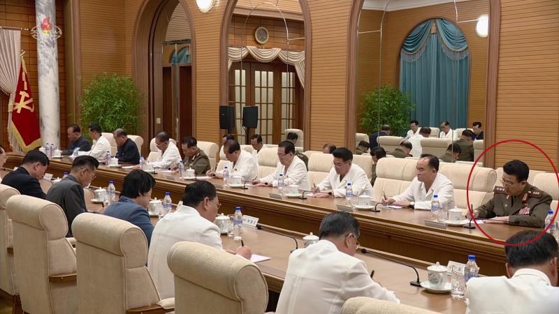 Министр госбезопасности КНДР понижен в звании до генерал-полковника