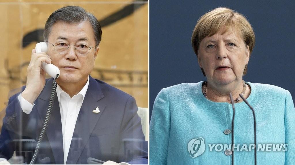 Президент РК попросил Германию поддержать Ю Мён Хи на выборах главы ВТО