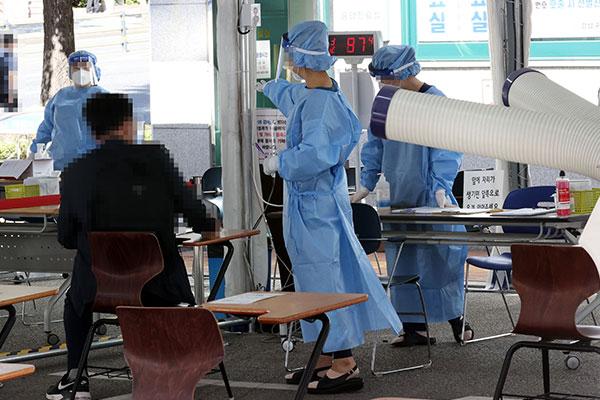 كوريا الجنوبية تسجل 63 حالة إصابة جديدة بفيروس كورونا