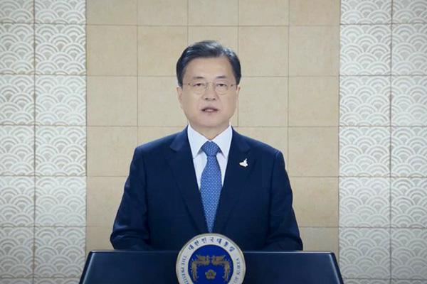 Präsident Moon hofft auf Kooperation mit USA für Erklärung von Kriegsende