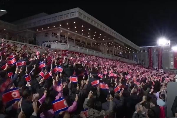 Corea del Norte organizó desfile militar por 73º aniversario de su fundación