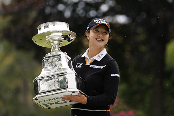 Golf féminin : Kim Sei-young remporte son premier majeur