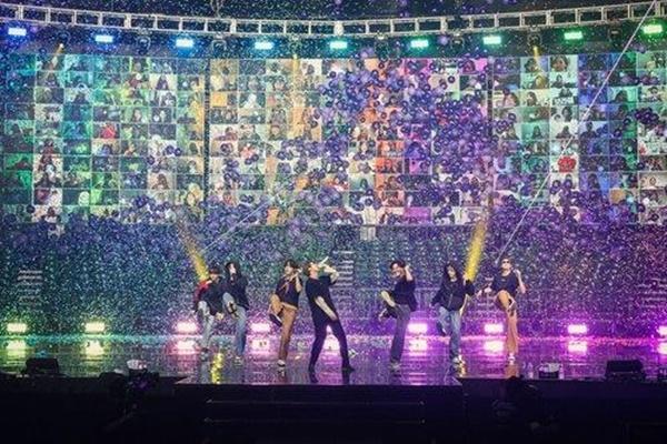 Группа BTS заняла два верхних места в чарте синглов Billboard