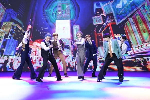 BTSが「トップ・ソーシャル・アーティスト賞」受賞 4年連続