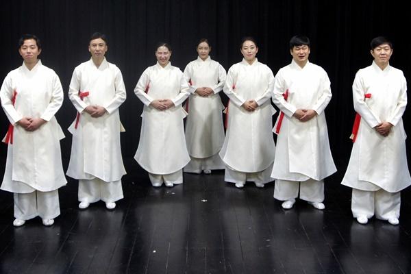 韩国立中央博物馆每周末举行无形文化遗产公演