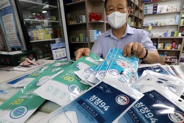 Séoul lève ses quotas d'exportation de masques