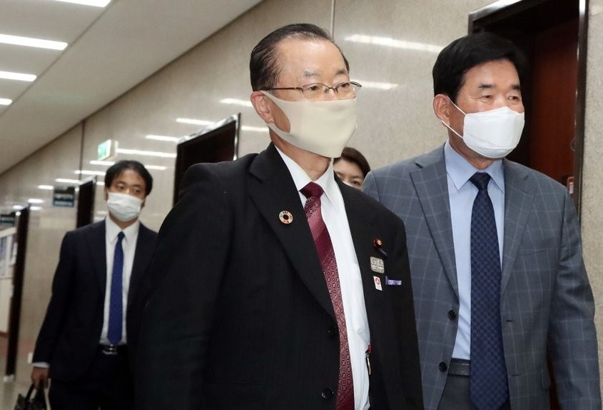 نواب من البرلمان الكوري يزورون اليابان في منتصف نوفمبر