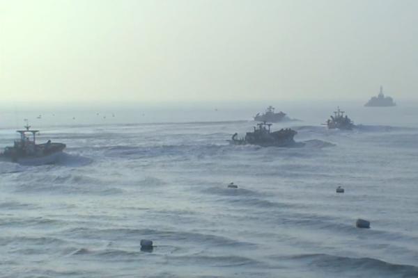 Một tàu đánh cá Hàn Quốc vượt sang hải phận miền Bắc do đi nhầm