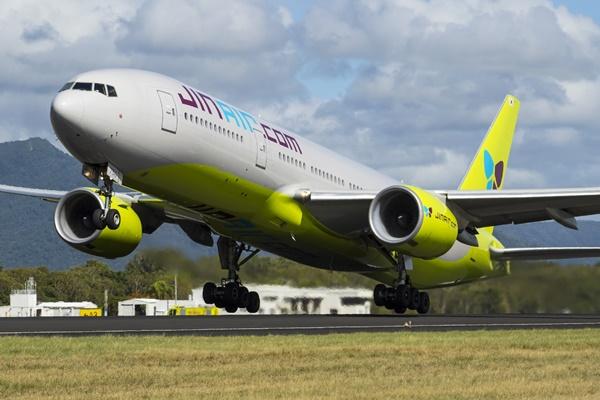 韩国廉价航空客机通过改装运载货物