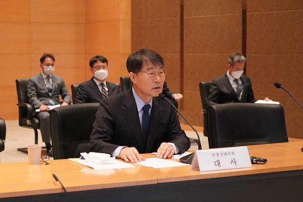 中国物流企業のBTS製品の運送中断、中国駐在韓国大使が中国に問題提起