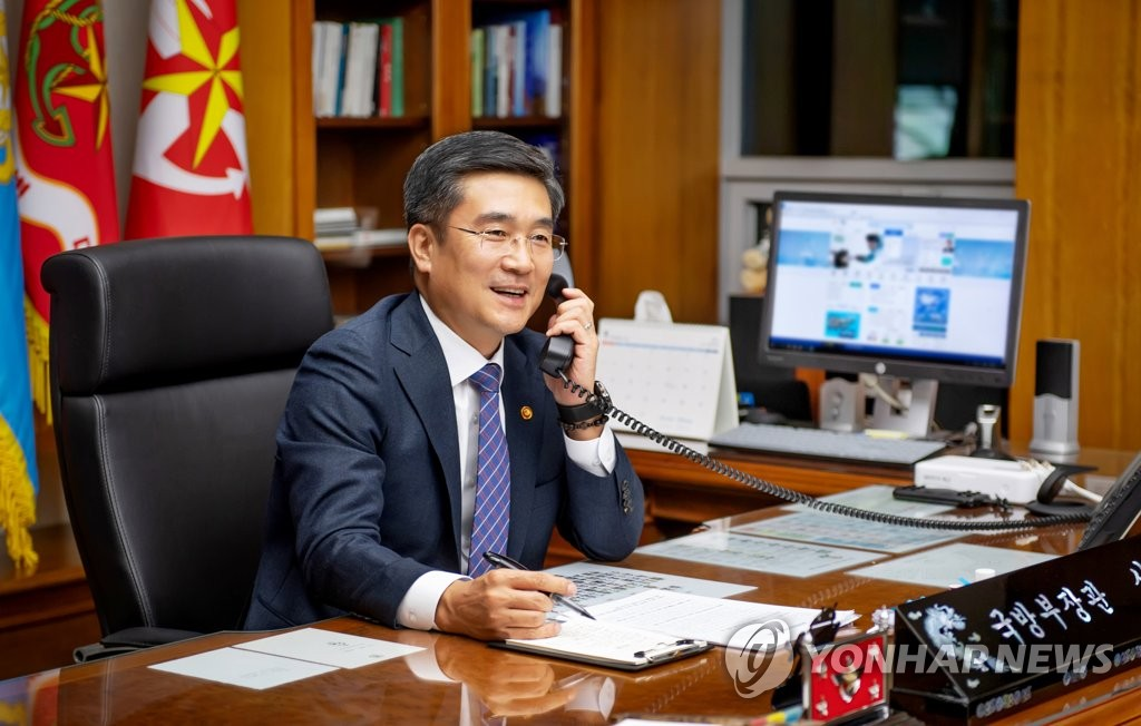 中国、徐旭国防部長官の中国訪問を招待 韓米同盟をけん制か