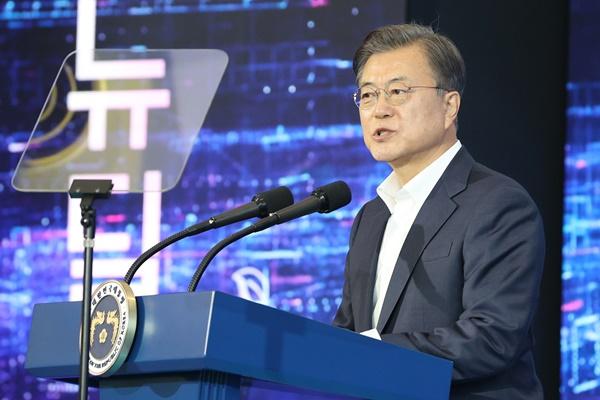 Moon: Regierung will zehn Billionen Won in Smart City-Projekt investieren
