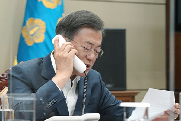 Moon Continues Diplomacy for Trade Minister's Bid for WTO Chief