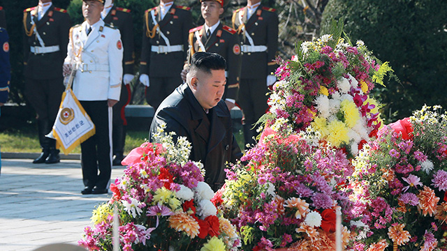 Kim Jong-un Sends Flowers to Chinese Cemetery for Fallen Soldiers