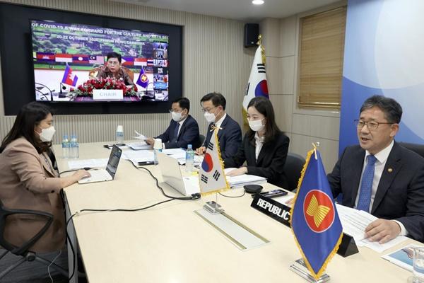 Kulturminister von ASEAN plus Drei betonen Notwendigkeit von Kultur- und Kunstaustausch trotz Pandemie