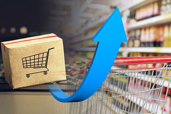 9月の流通業の売り上げ、オンライン・店舗販売ともに増加