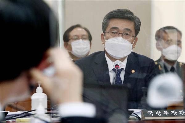 Defense Minister Addresses Suspicions on N. Korean Man Who Crossed Border