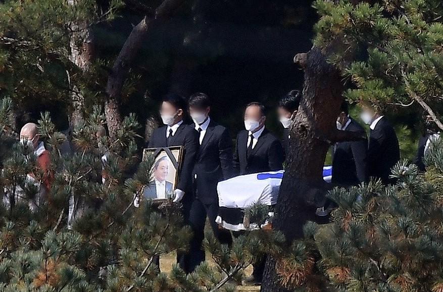 Verstorbener Vorsitzender von Samsung Electronics Lee Kun-hee beigesetzt