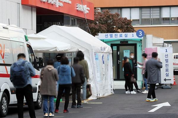 韩新增103例新冠病毒确诊病例 首尔市检查万圣节防疫情况