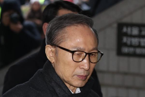 Früherer Präsident Lee Myung-bak muss Haftstrafe am Montag antreten
