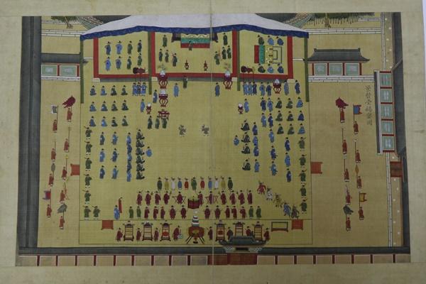 18세기 전반 대표하는 궁중회화 '기사계첩' 국보 된다